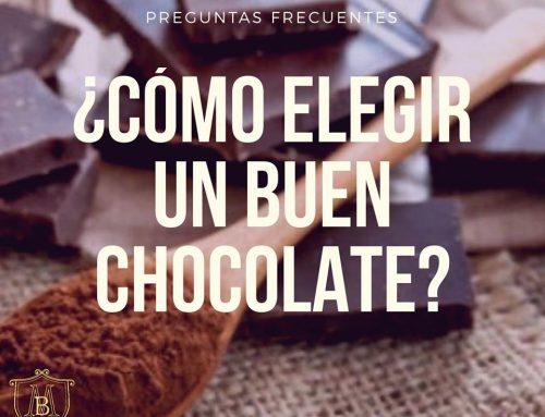 ¿Cómo elegir un buen chocolate?