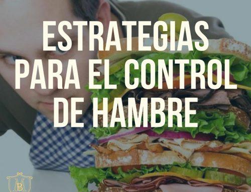 Estrategias para el control del hambre